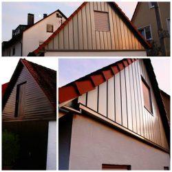 Fassadenverblechung im Panellsystem